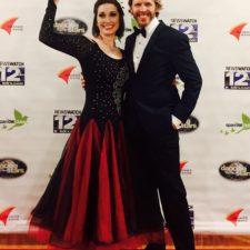 Shining Star winner Danielle Craig with Sparrow Clubs Oregon Director, Matt Sampson