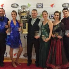 DWTRVS 2016 winners!  John Wiley & Sydney Smedley, Justin Woodside & Cori Grimm, Danielle Craig & Joseph Kuhl